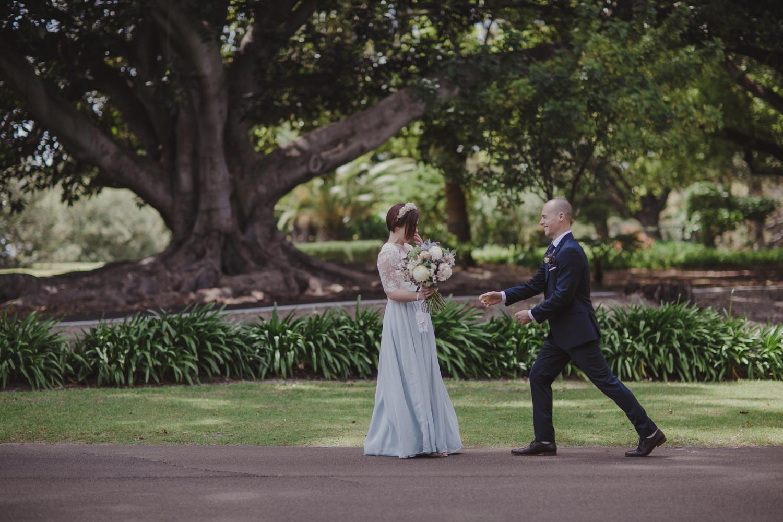 first look wedding perth