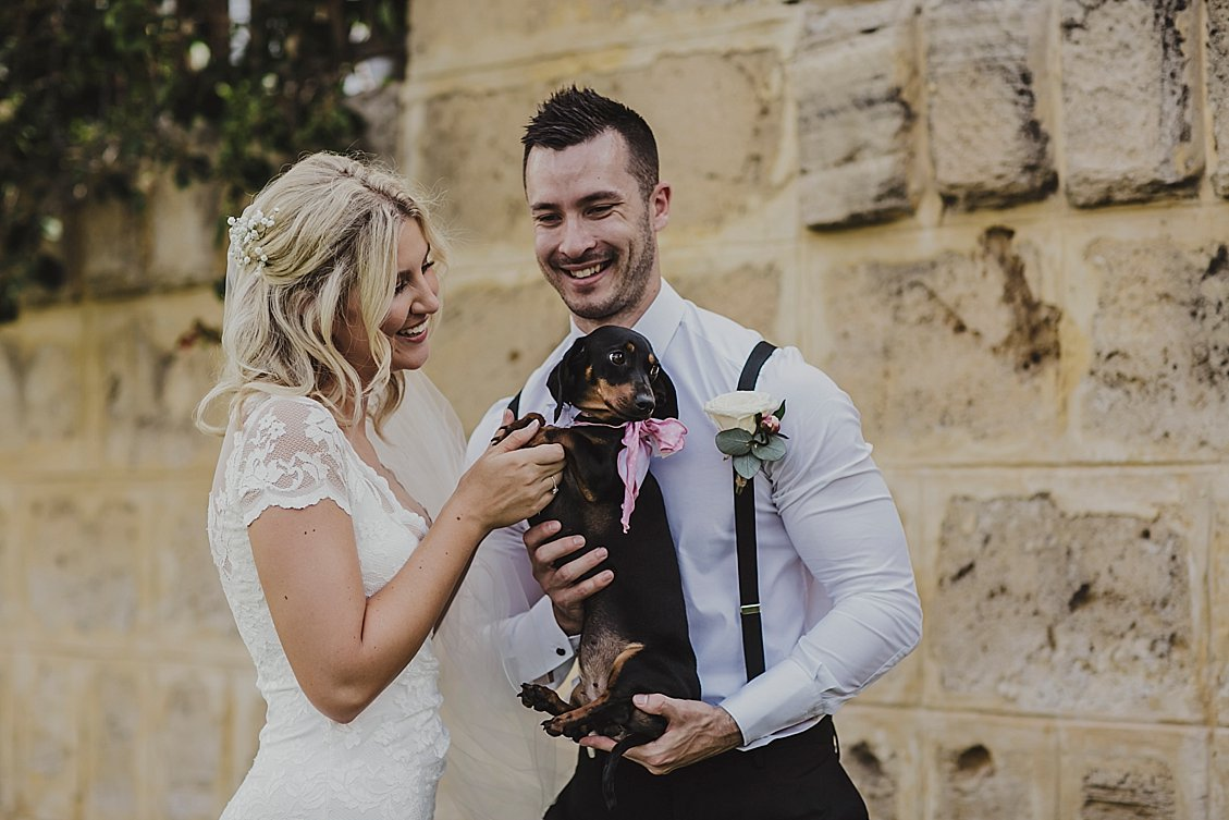 wedding fur babies