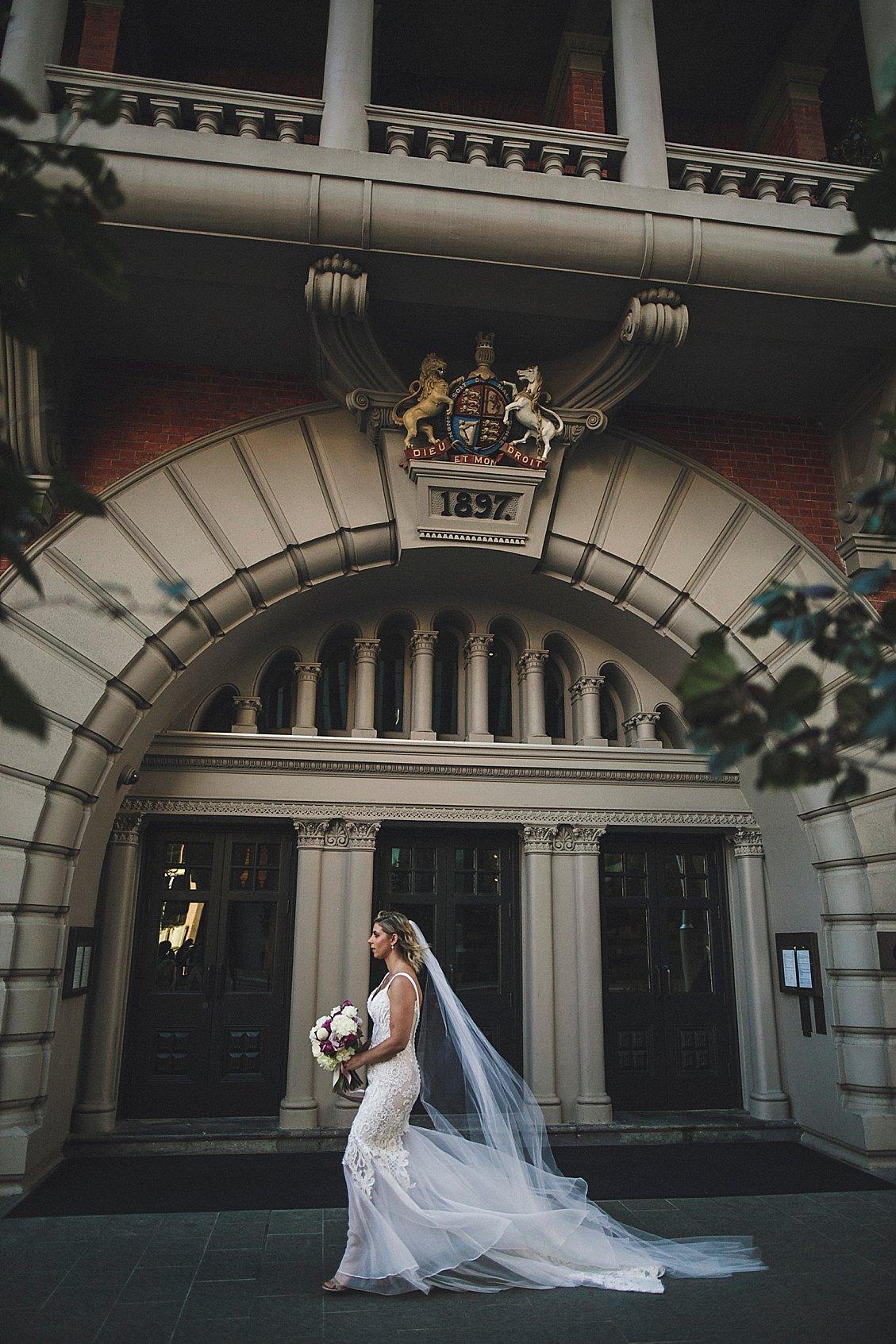 como treasury hotel wedding