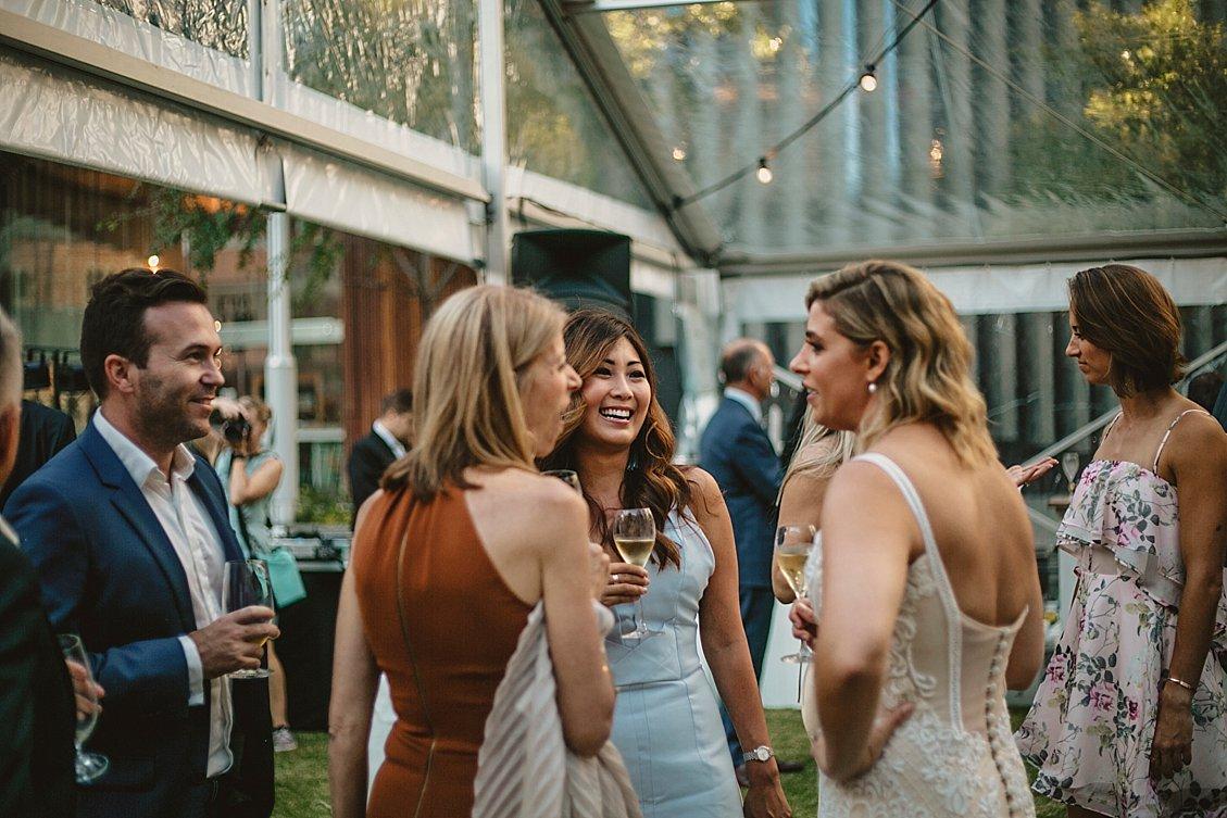 como treasury hotel marquee wedding
