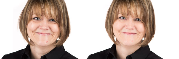 Good retouching is subtle. Can you see the differences?