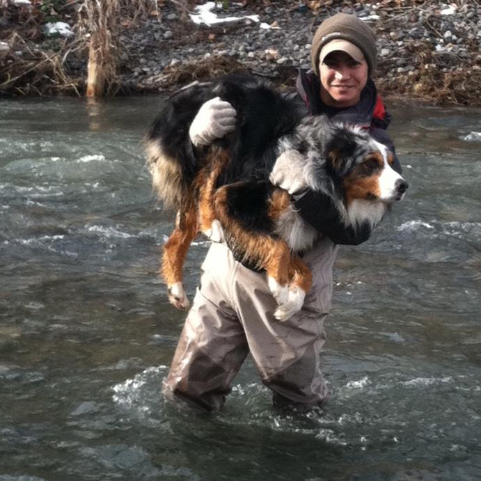 Paul & Bronco winter steelhead fishing.jpg