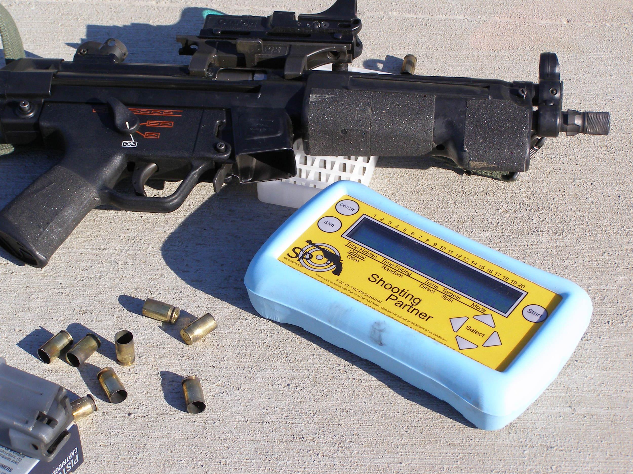 Beretta, TX, and spent shells.JPG