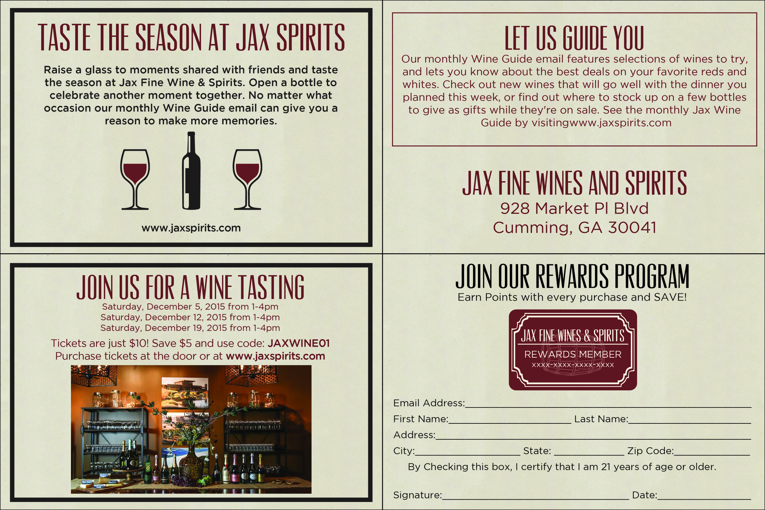 Wine Mailer