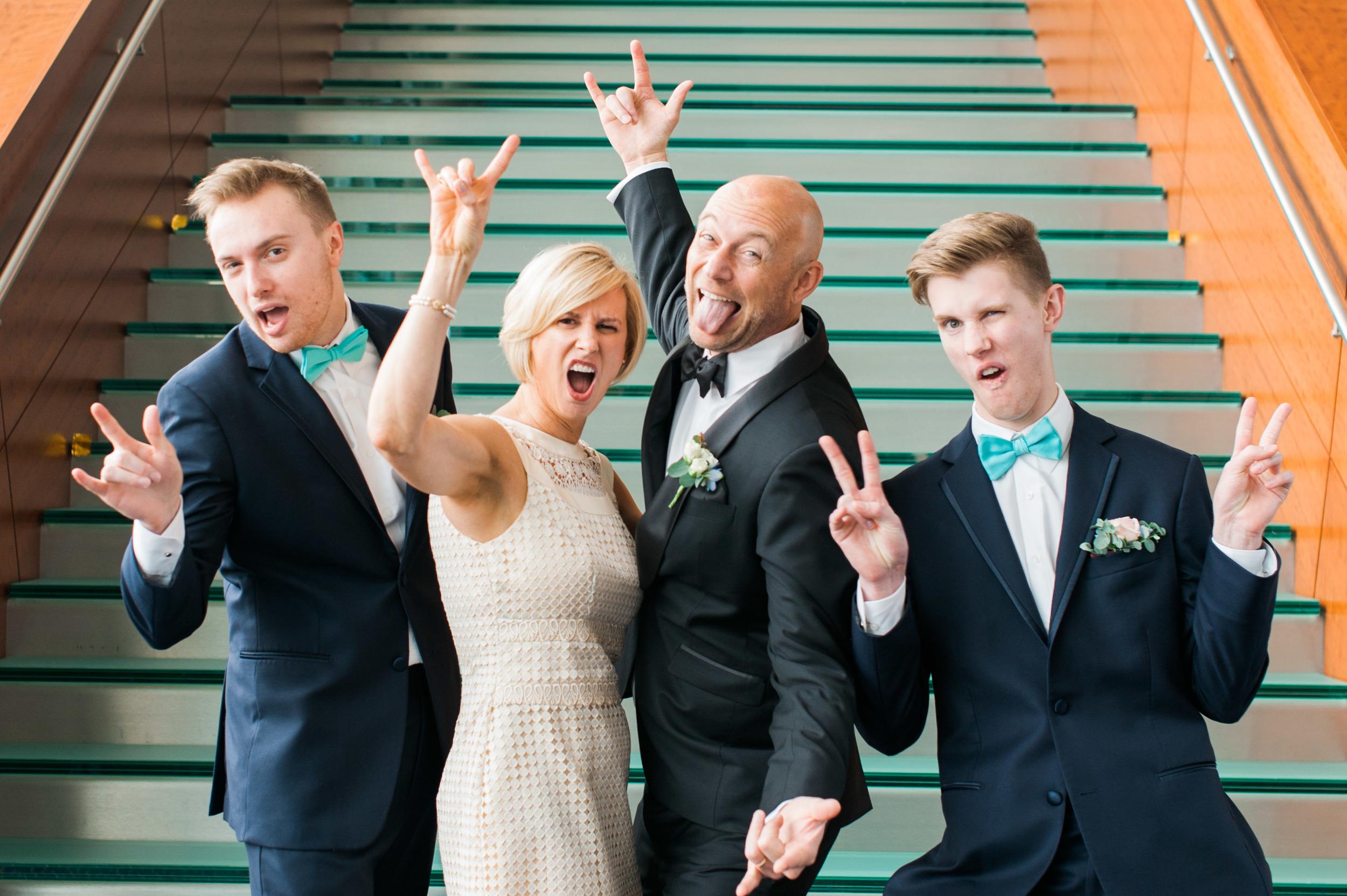 fun bridal party holland performing arts center omaha