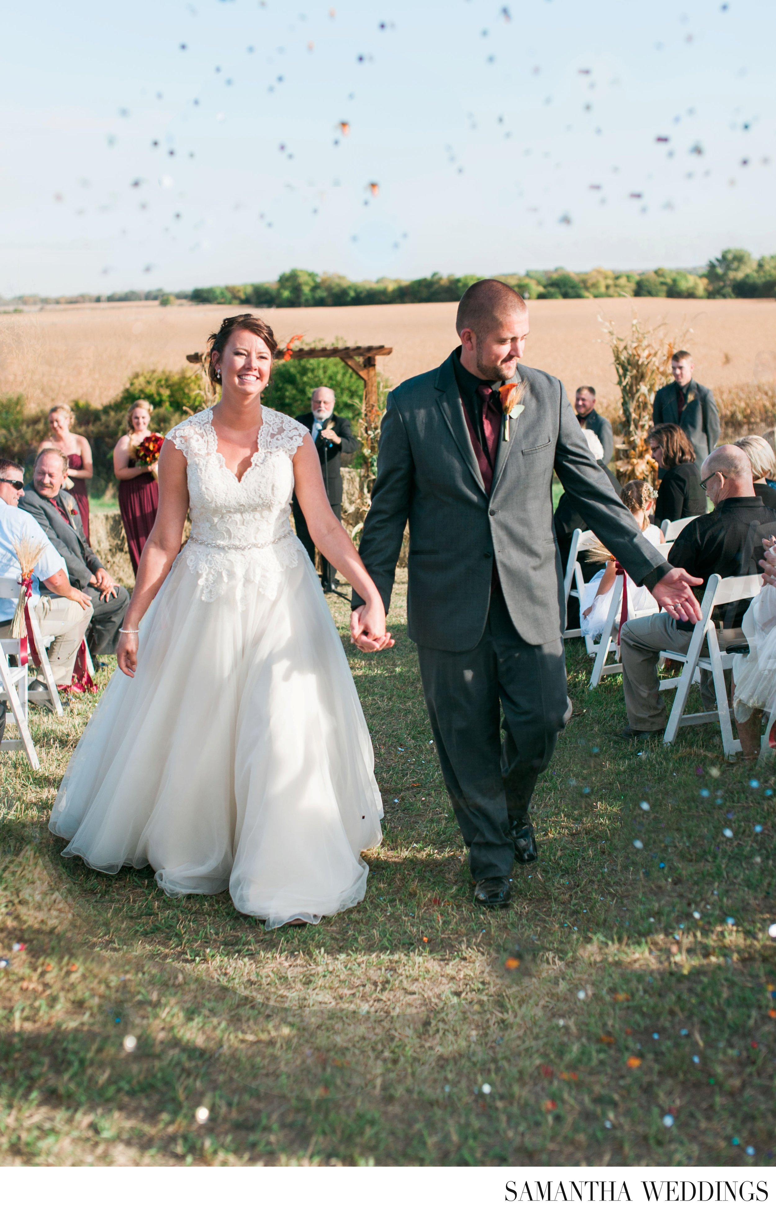 Kearney Nebraska Wedding Photographer Samantha Weddings Fall Wedding
