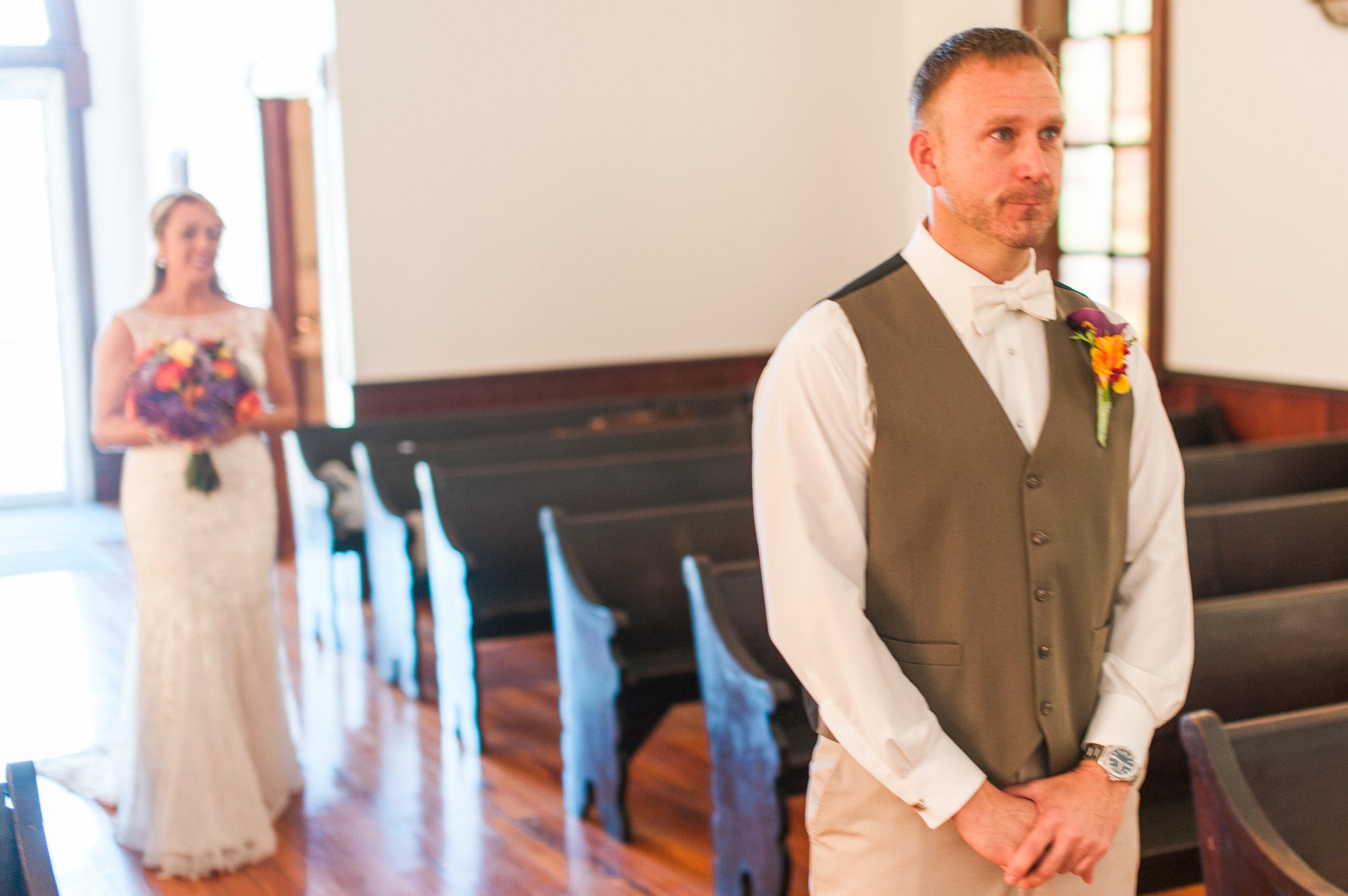 Elk City Hall Wedding Omaha