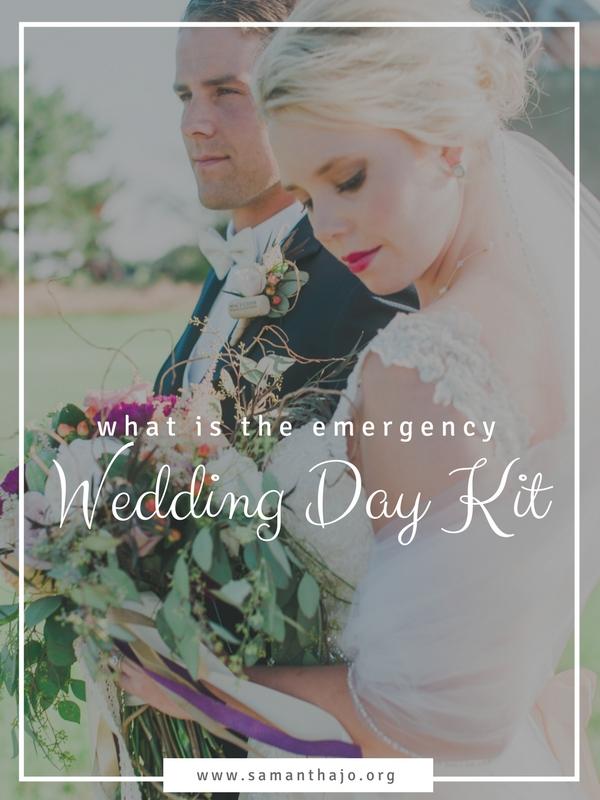 emergency wedding kit kearney nebraska