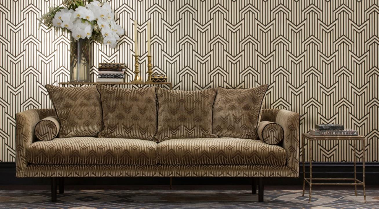 Metropolis Fabric and Wallpaper