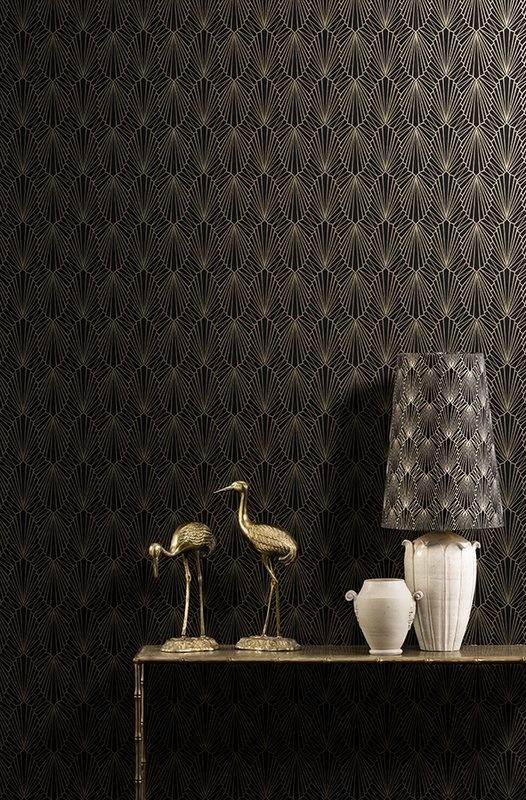 Charleston Pearls fabric and wallpaper