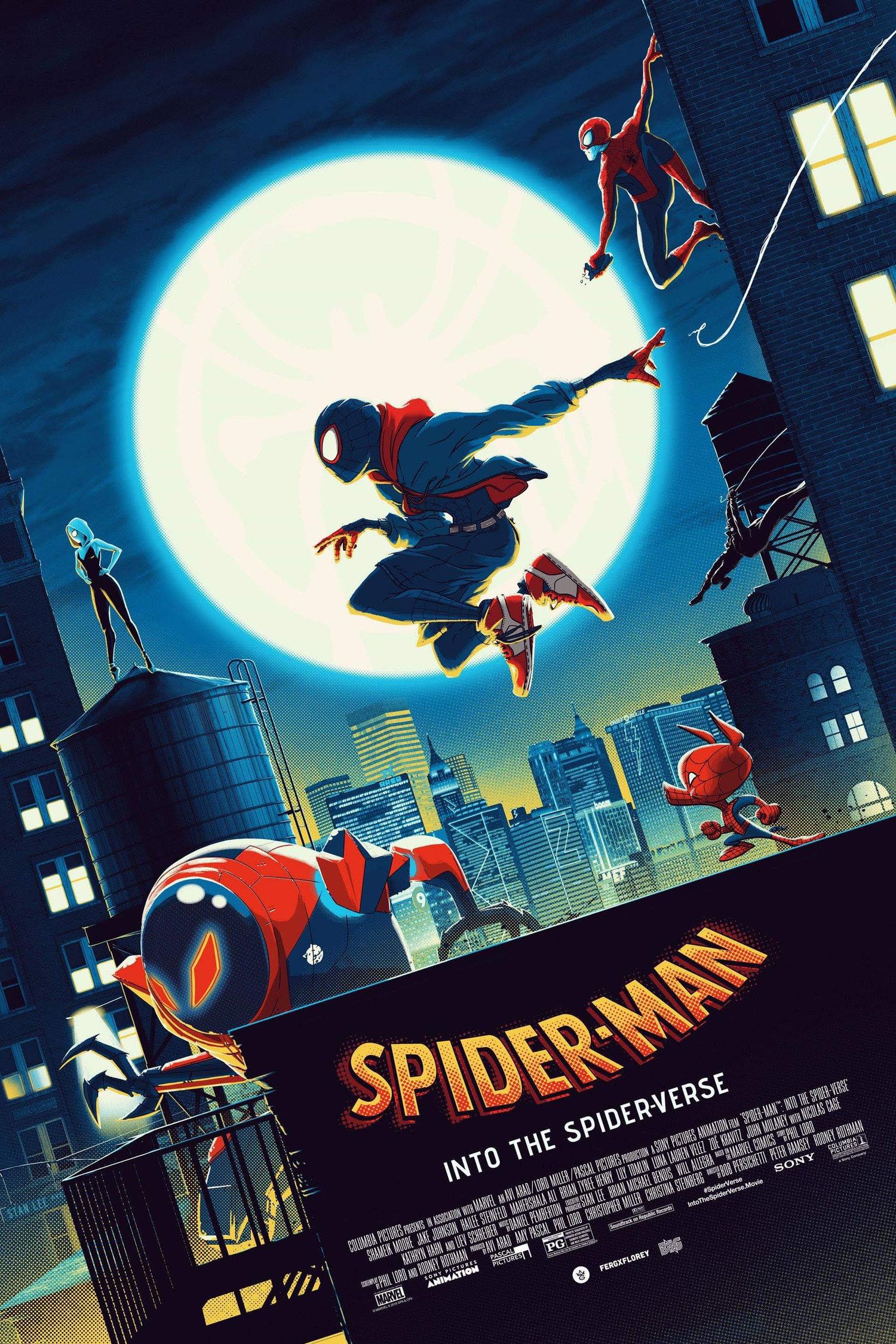 Spider Man Into The Spider Verse The Art Of Matt Ferguson