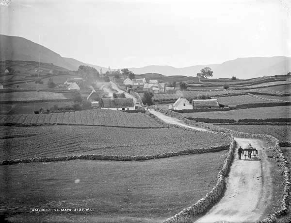 America Village - Baile Mheiriceá is in fact in Co. Galway not Mayo as is stated on the images.