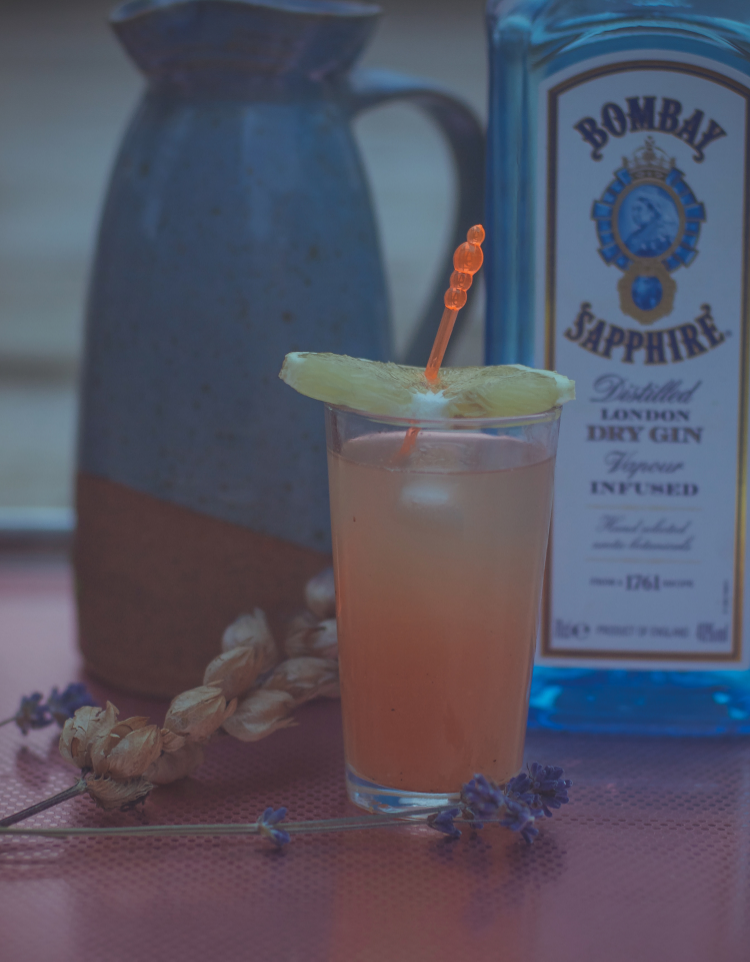 America Village - Indian style bergamot citrus-ade