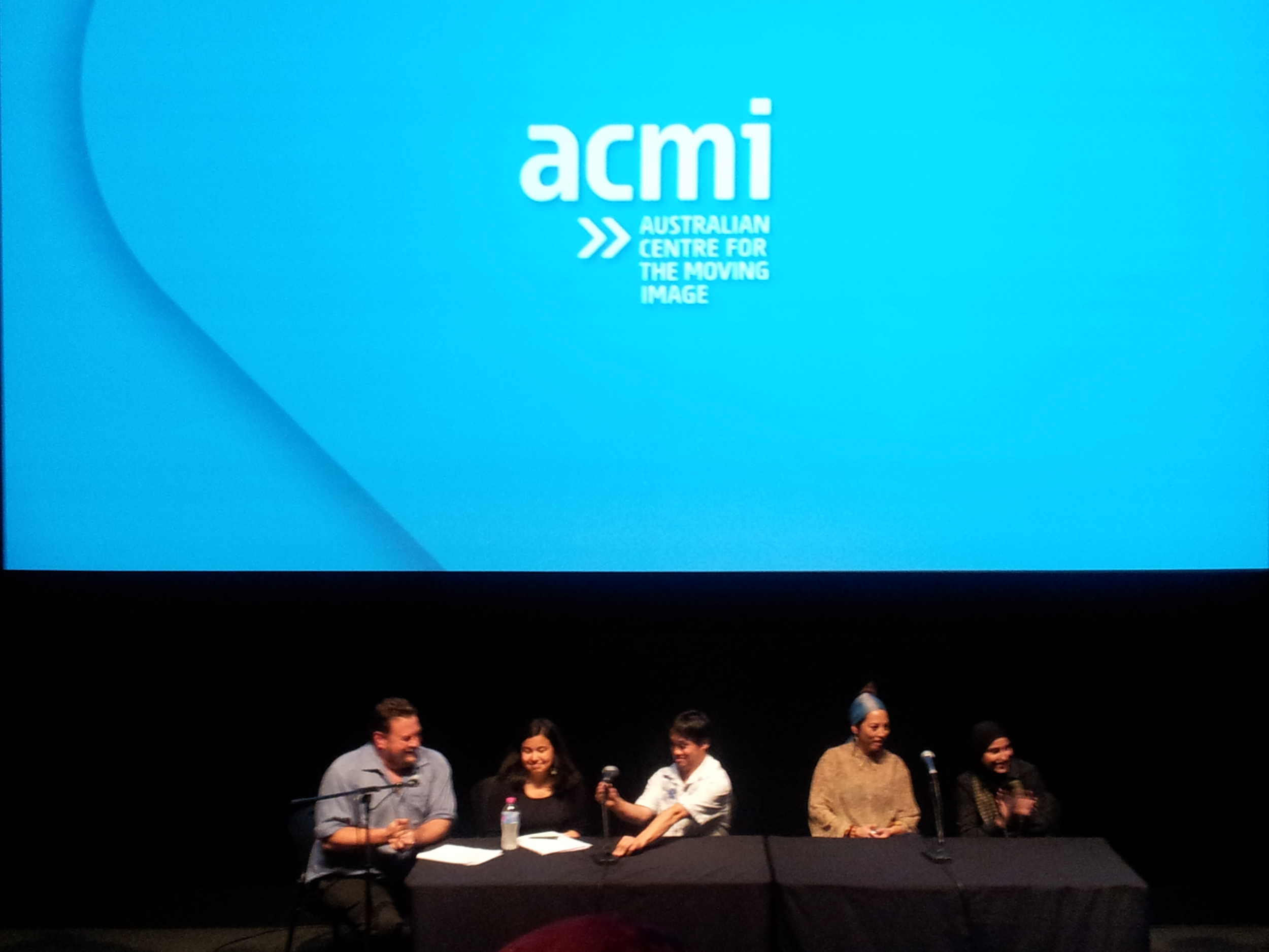 Diversity on Stage and Screen , Performance and Q&A, Australian Centre for the Moving Image (ACMI), November 2012