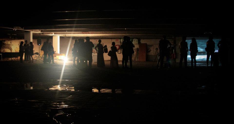 48 Hour Performance Generator , ARTillery Festival, Collingwood Underground Carpark, Amnesty International 2011