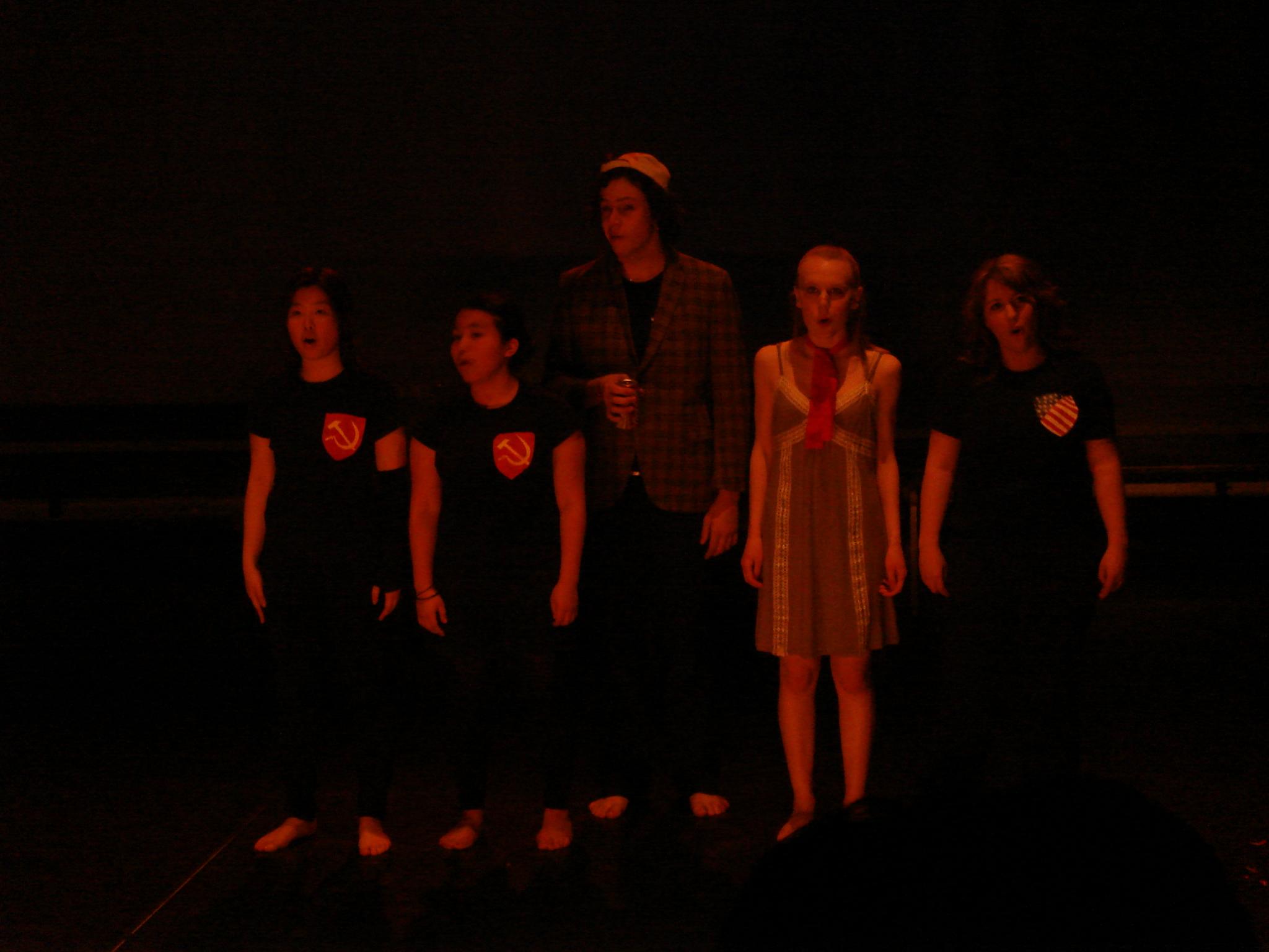 The Hamlet Machine , Deakin University 2008