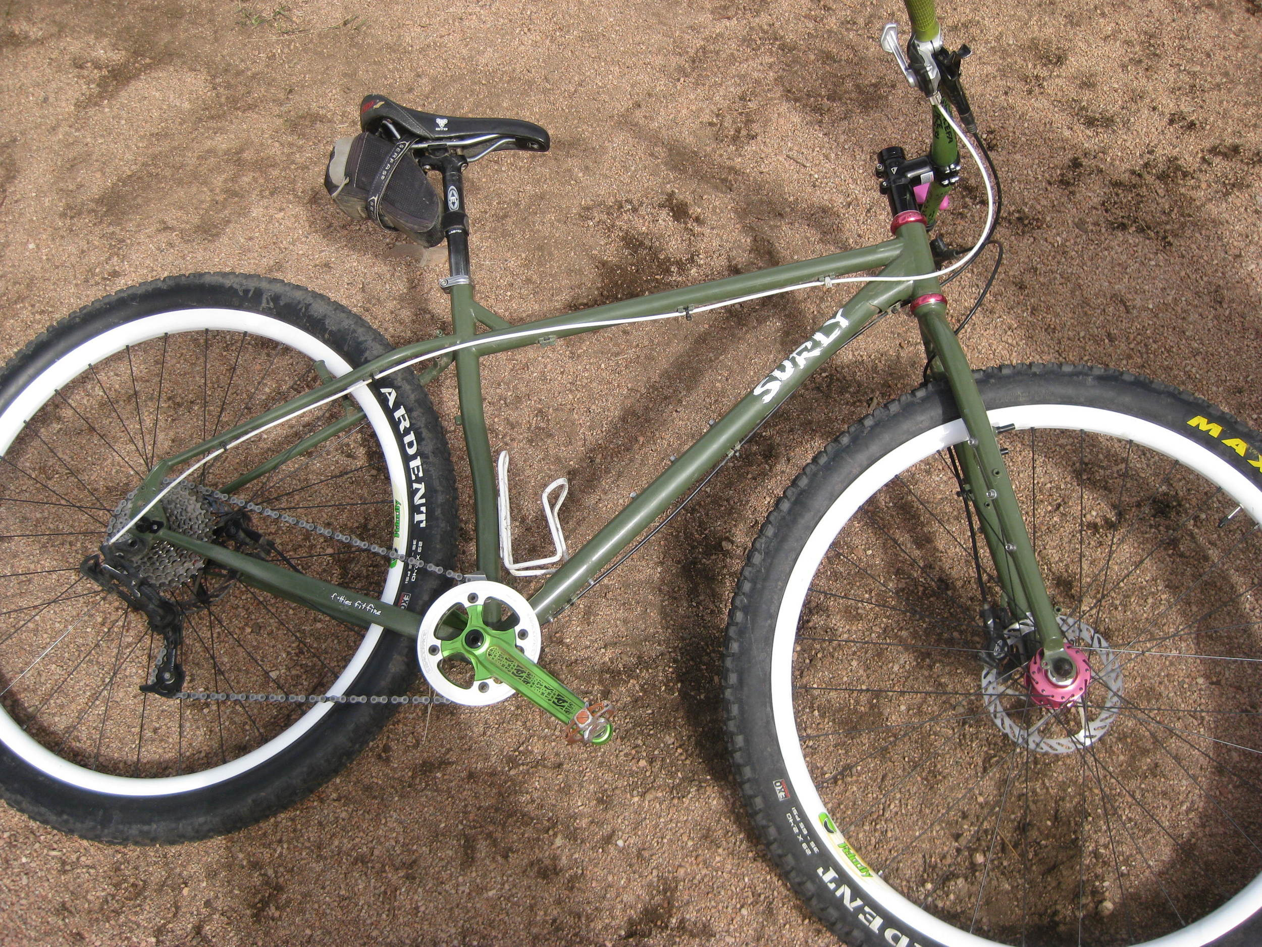 Levi's Surly Ogre (click photo to read more)