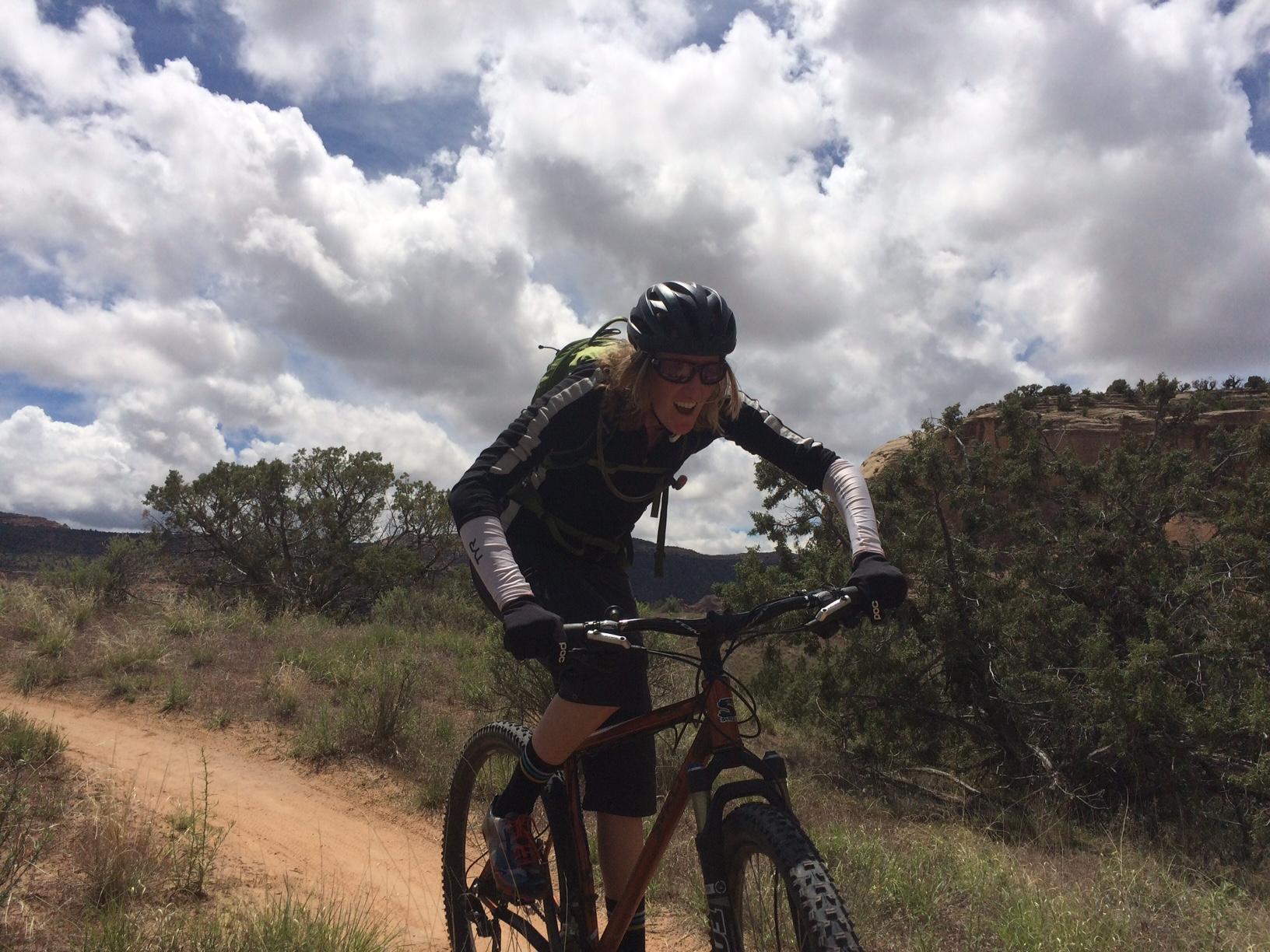 Mountain biking is pretty meh.