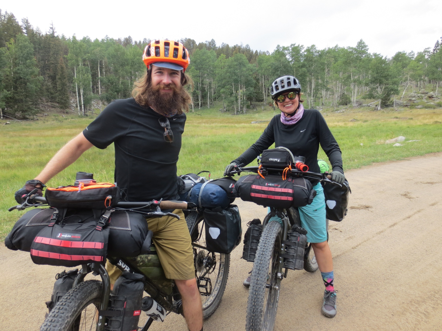 These were the only other two people she saw on bikes that week, and they were on ECR's, too.