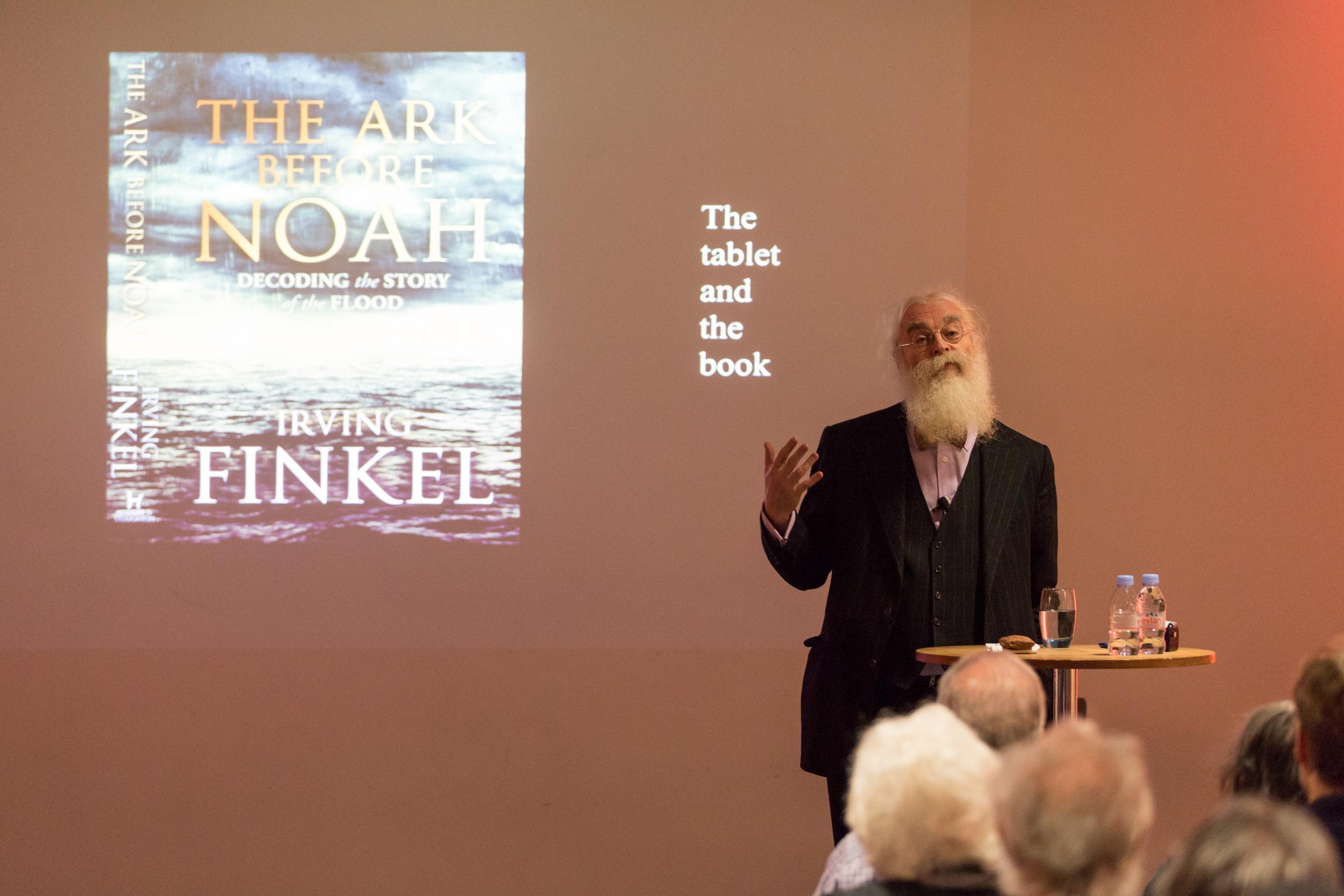 JBW - Thurs 27.2.14 - 3pm - Irving Finkel The Ark before Noah - Andy Tyler Photography-3624.jpg