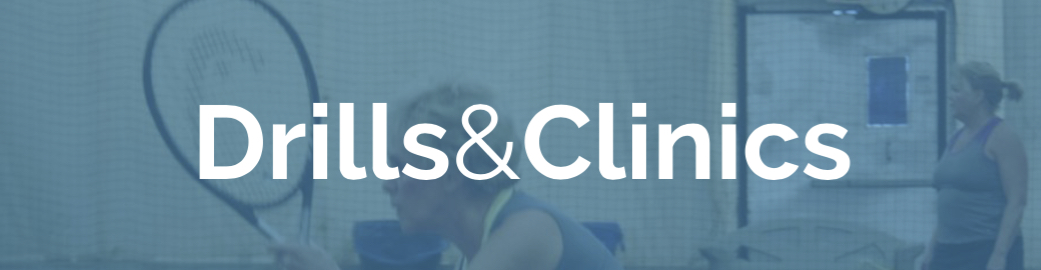 We offer a variety of adult tennis drills for players of all levels.