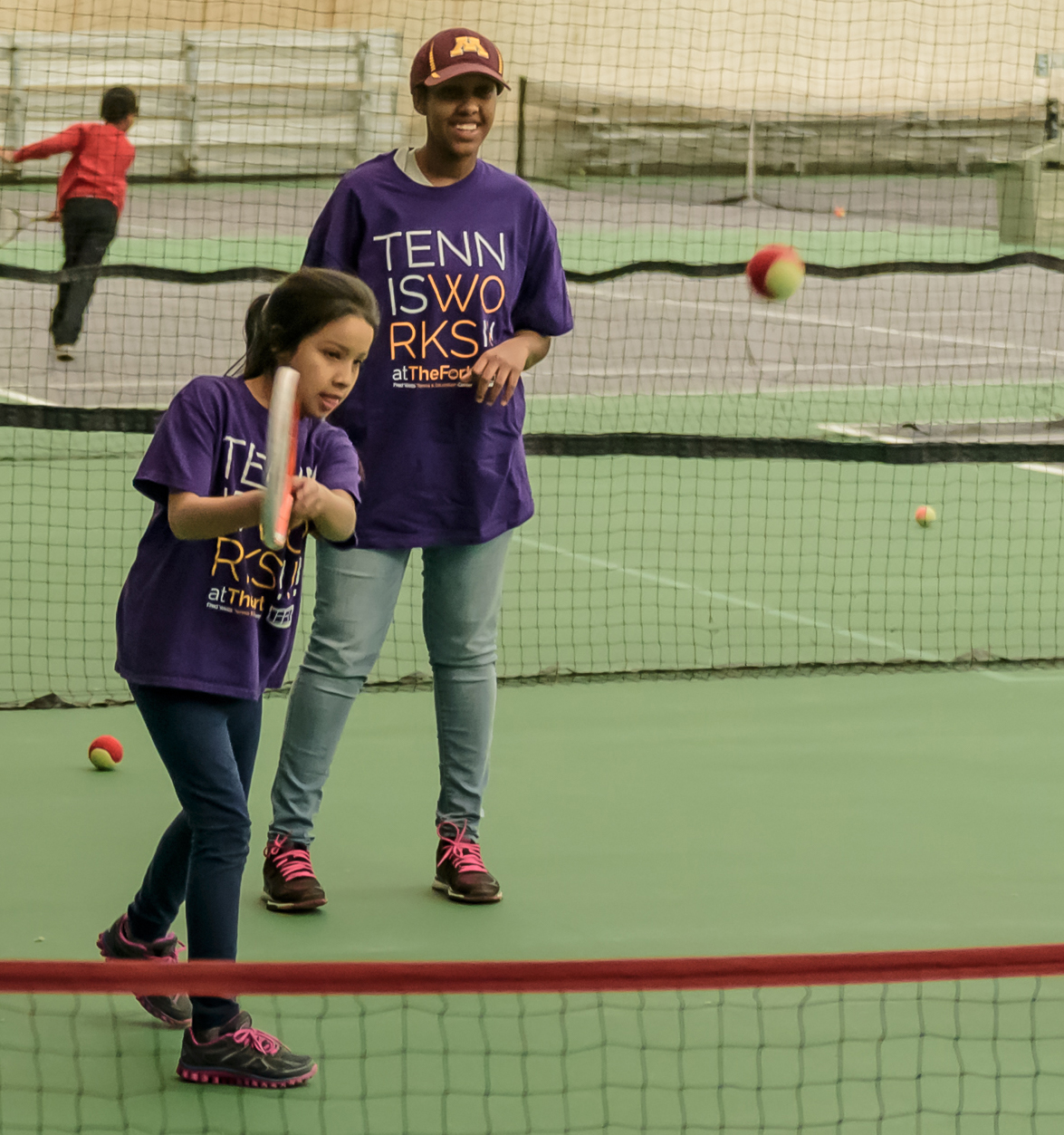 Our Mission - We bring people together of all ages, abilities, and backgrounds to embrace the lifelong game of tennis while serving under-resourced youth with the support of the Community.