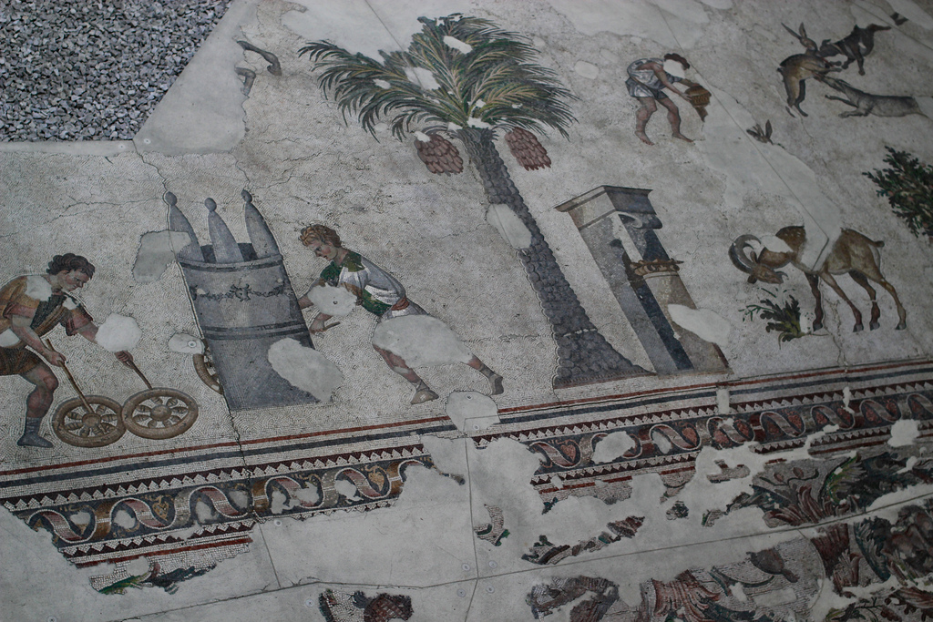 Part of the Great Palace Mosaic, Istanbul