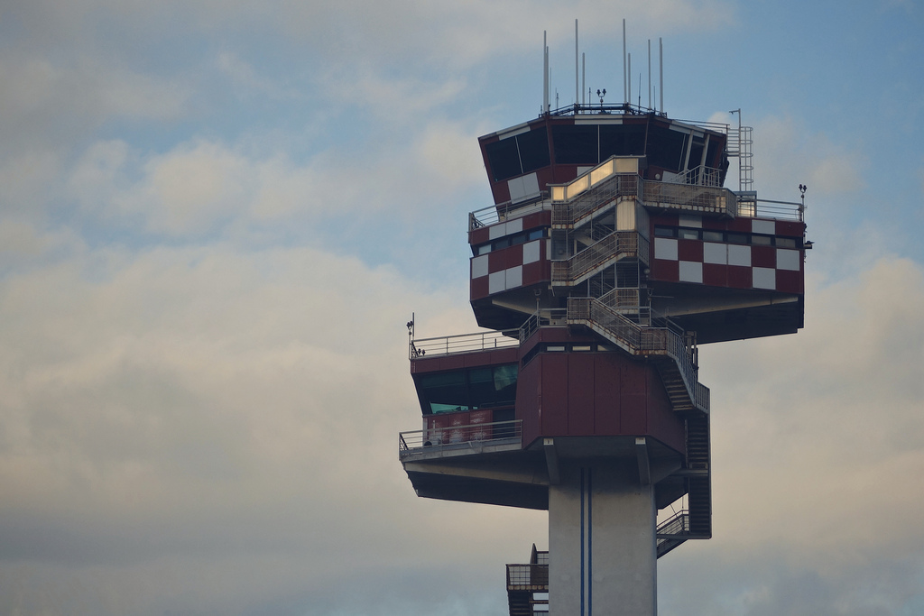 Control tower, Fiumicino – Leonardo da Vinci International Airport, Rome