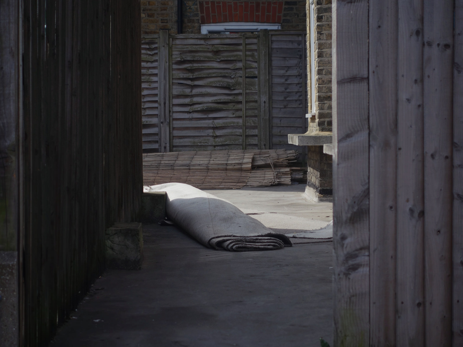 Carpet outside, Streatham, London, 2014