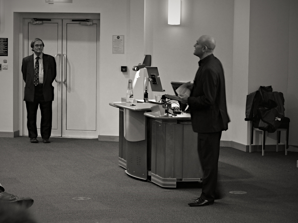 Profs Jim Al-Khalili and Sir Roger Penrose