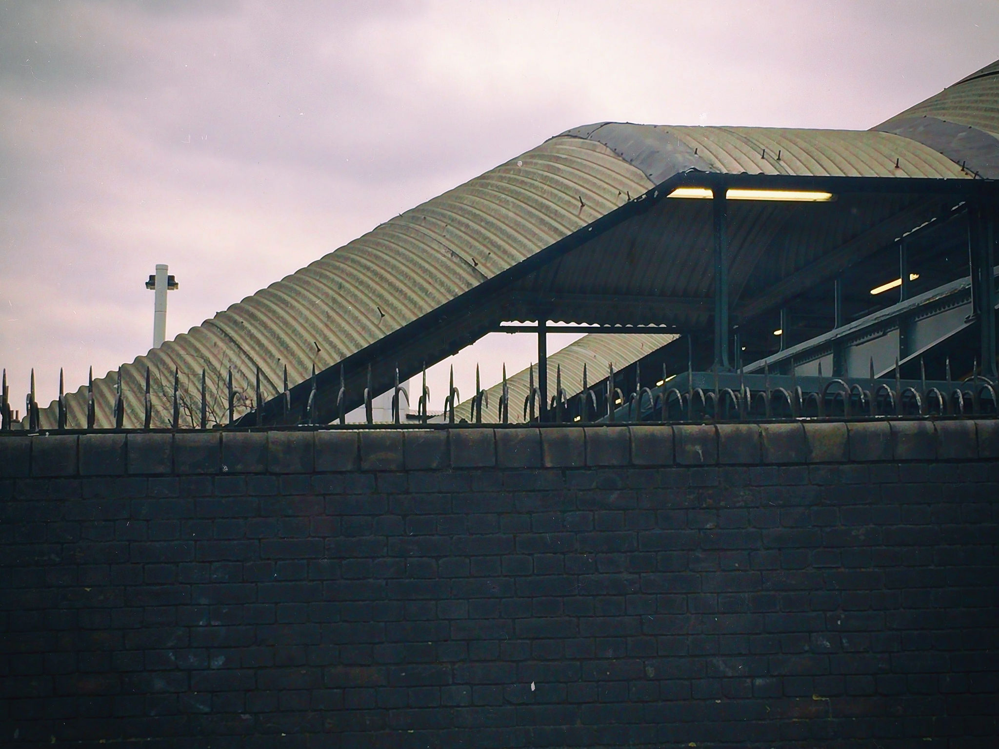 Stairs at Streatham Vale Railway Station