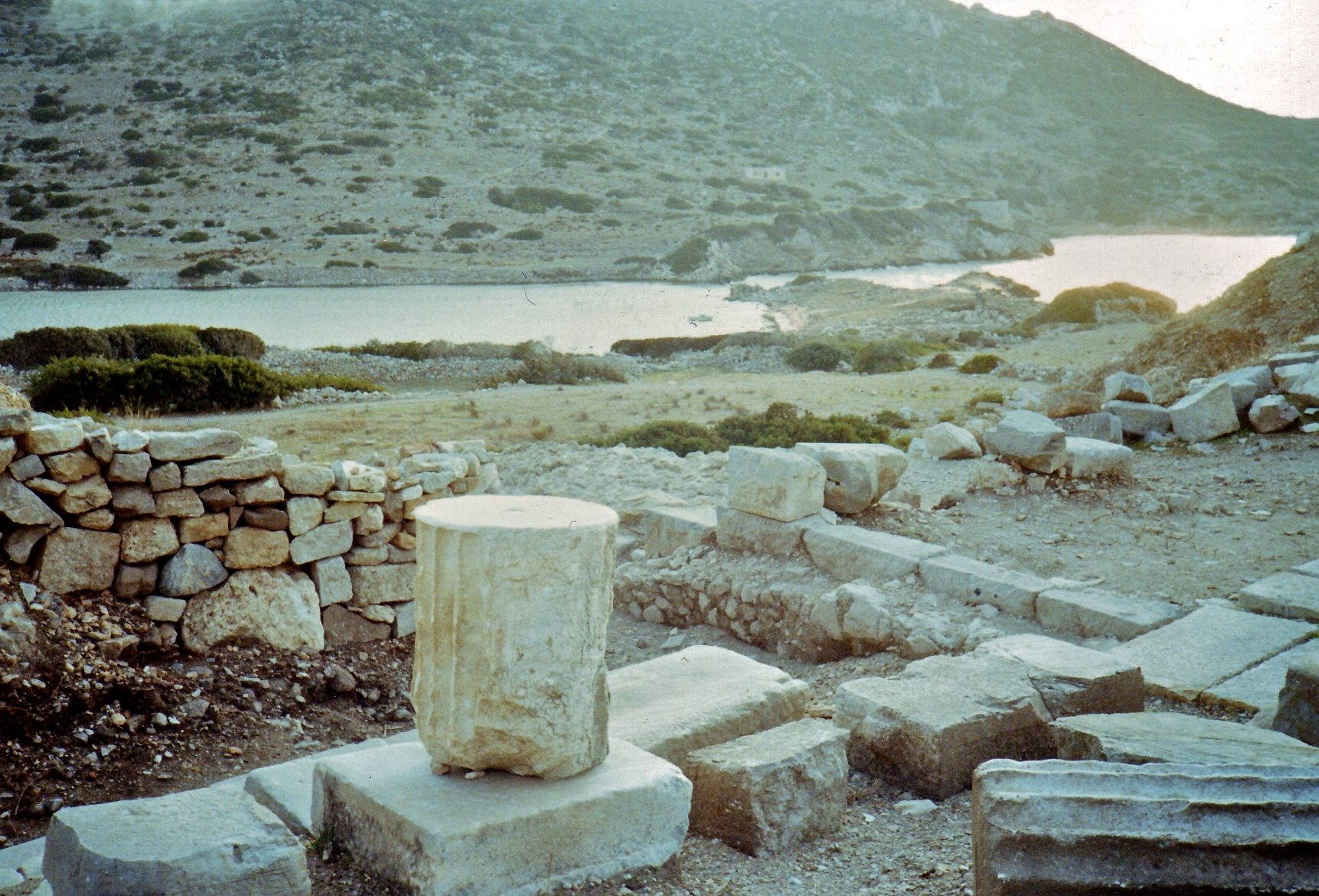 The one photo I took at Knidos in 1989
