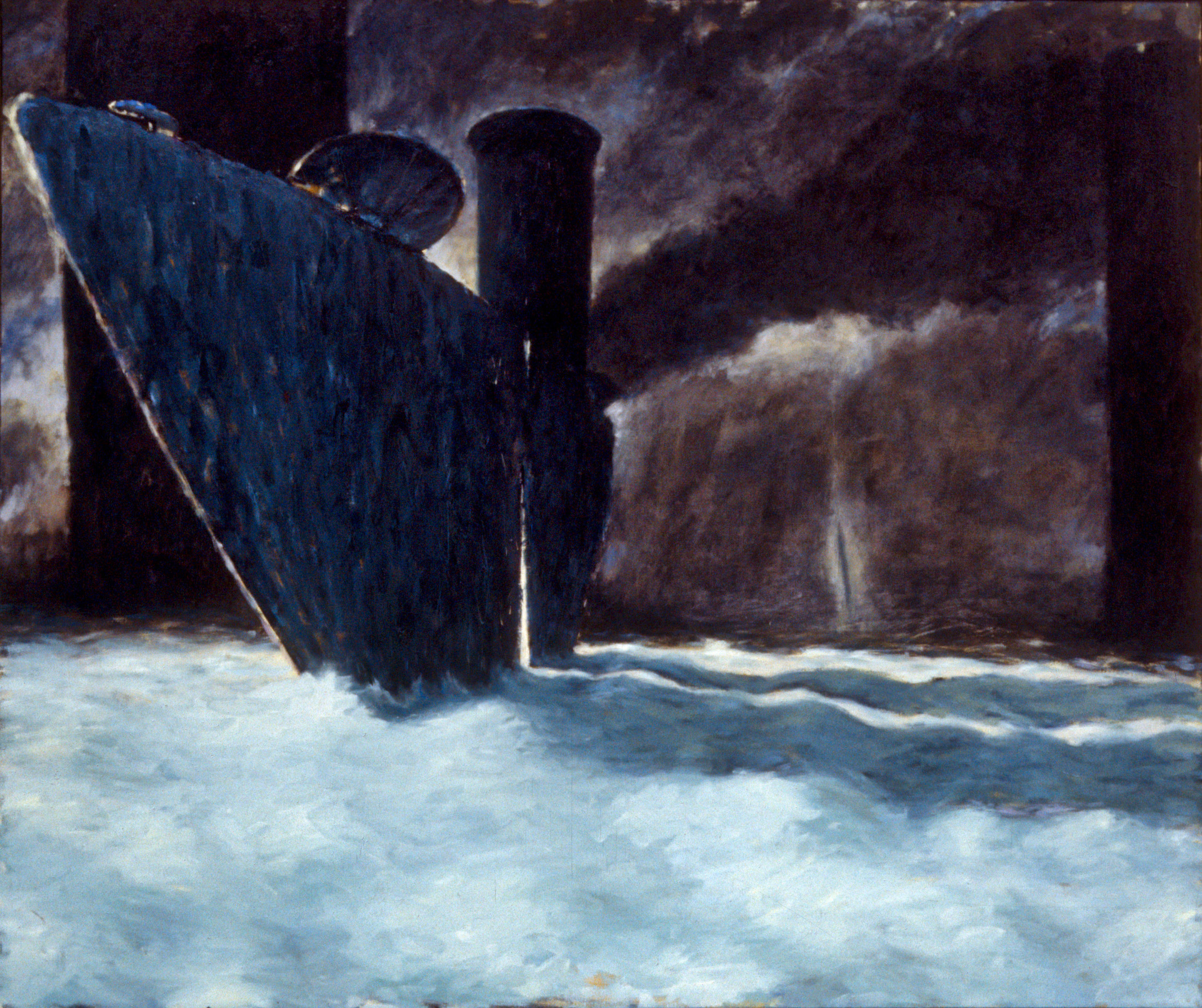 The water spout (diptych)