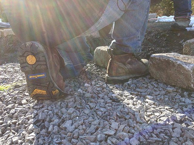 Two years ago @goodyearfootwear sponsored us with leather steal toe boots from their work and safety collection. These boots have held up in the toughest of conditions! We highly recommend them to any contractors in the game! #GoodyearFootwear