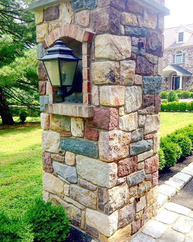 Stone Pillar by @americanstonels