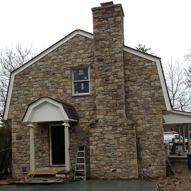 Stone facing restorations & repointing by @americanstonels