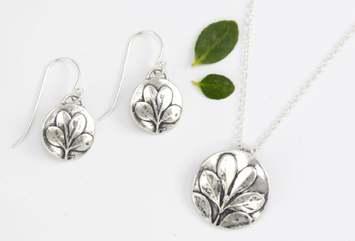 Boxwood Collection, sterling silver
