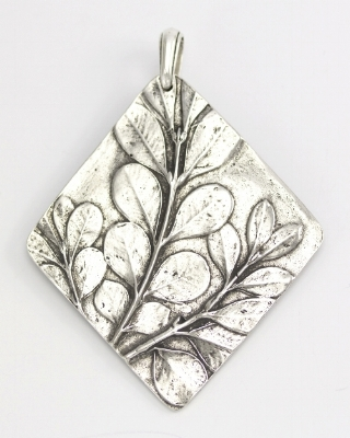 Boxwood Ornament, pewter