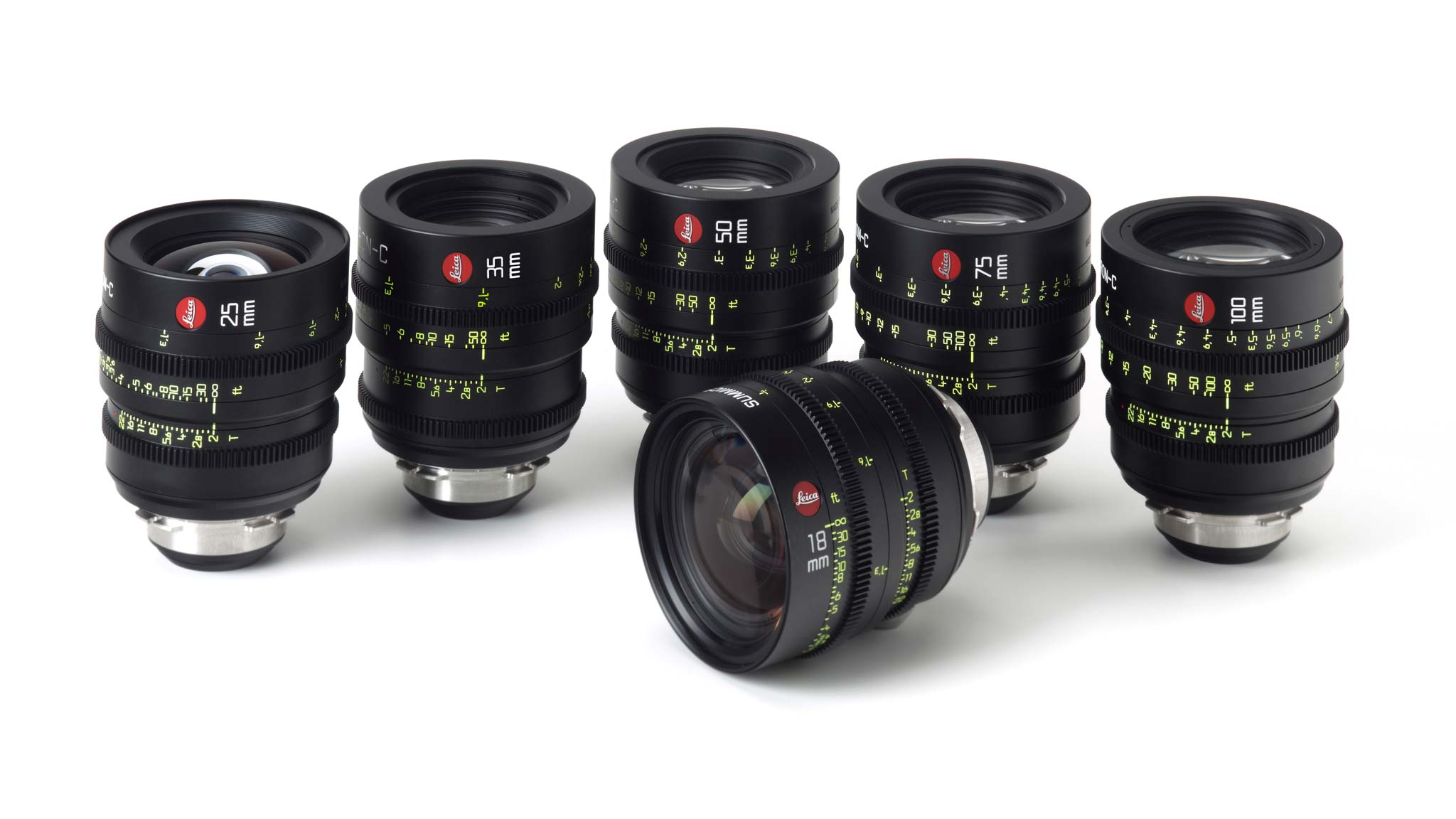 Leica Summicron-C Lenses   Now available in rentals, the new Leica Summicron-C lenses are a cost-effective companion to their Summilux-C siblings, as comfortable on the new generation of PL mount cameras introduced lately (F5, F55, C300, C500, Epic Dragon) as they are on Alexa, F65, Epic and other camera systems.  Available now in 18mm, 25mm, 35mm, 50mm, 75mm, 100mm and 135mm focal lengths.