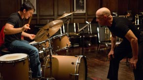 Whiplash, Directed By: Damien Chazelle    Principal Cast: Miles Teller, J.K. Simmons