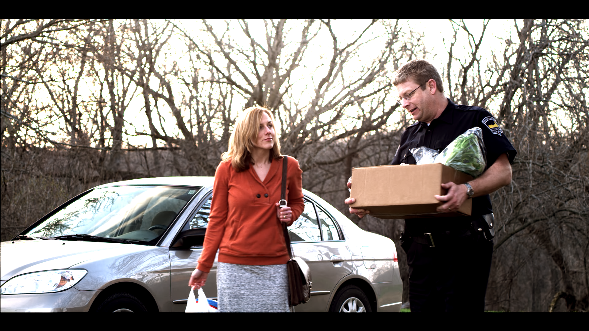 Grace McPhillips and Keith Kouzmanoff in the feature   The Other One