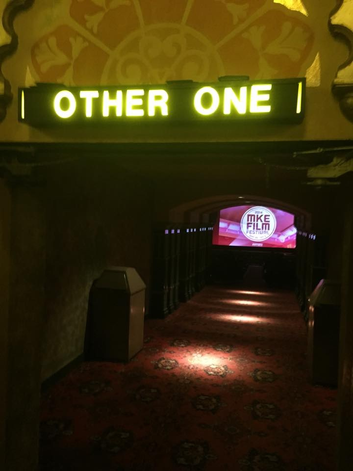 The Other One screened to packed houses at both the Times Cinema and the Oriental Theater, photographed above.