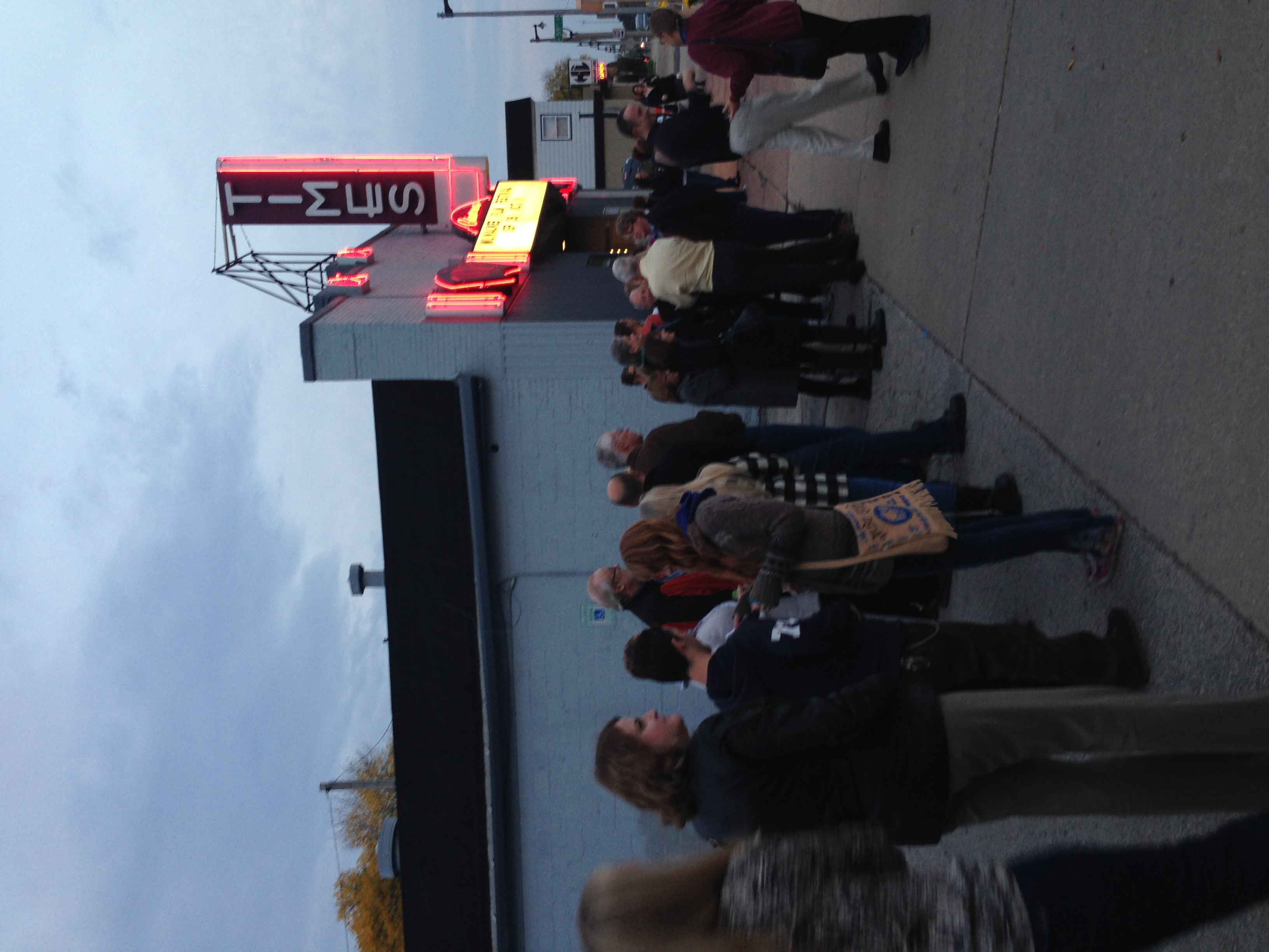 Line out the door at the Milwaukee Film Festival!