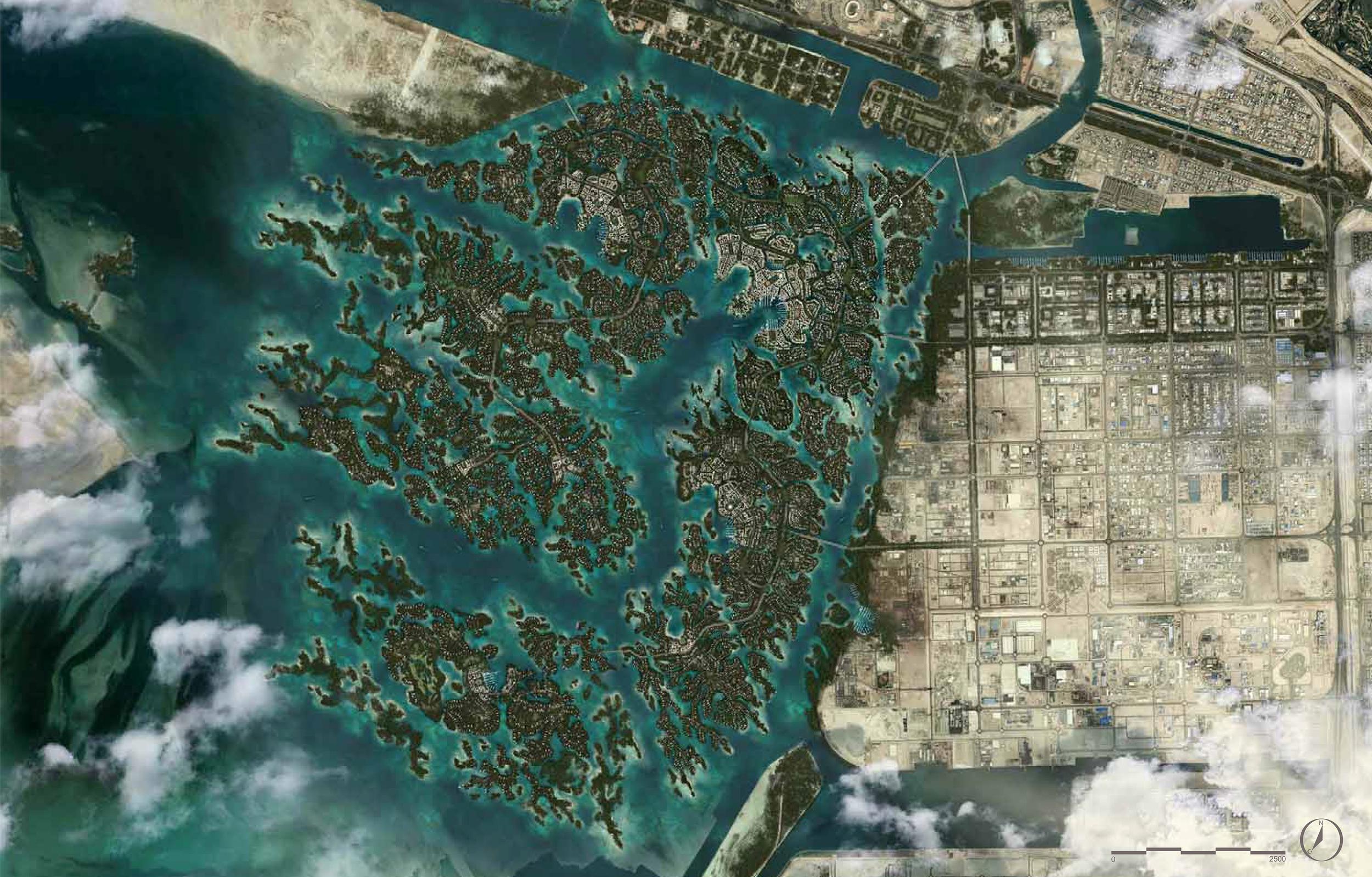 Nature City master plan