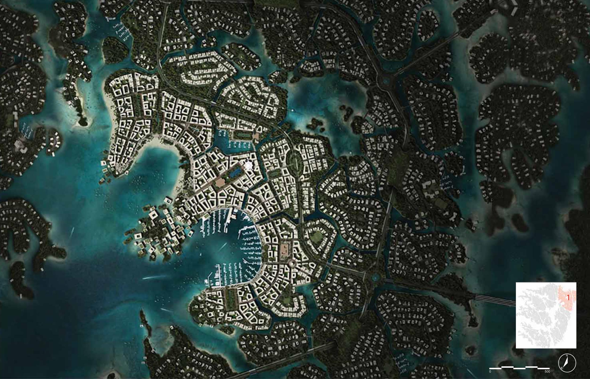 Nature City plan detail