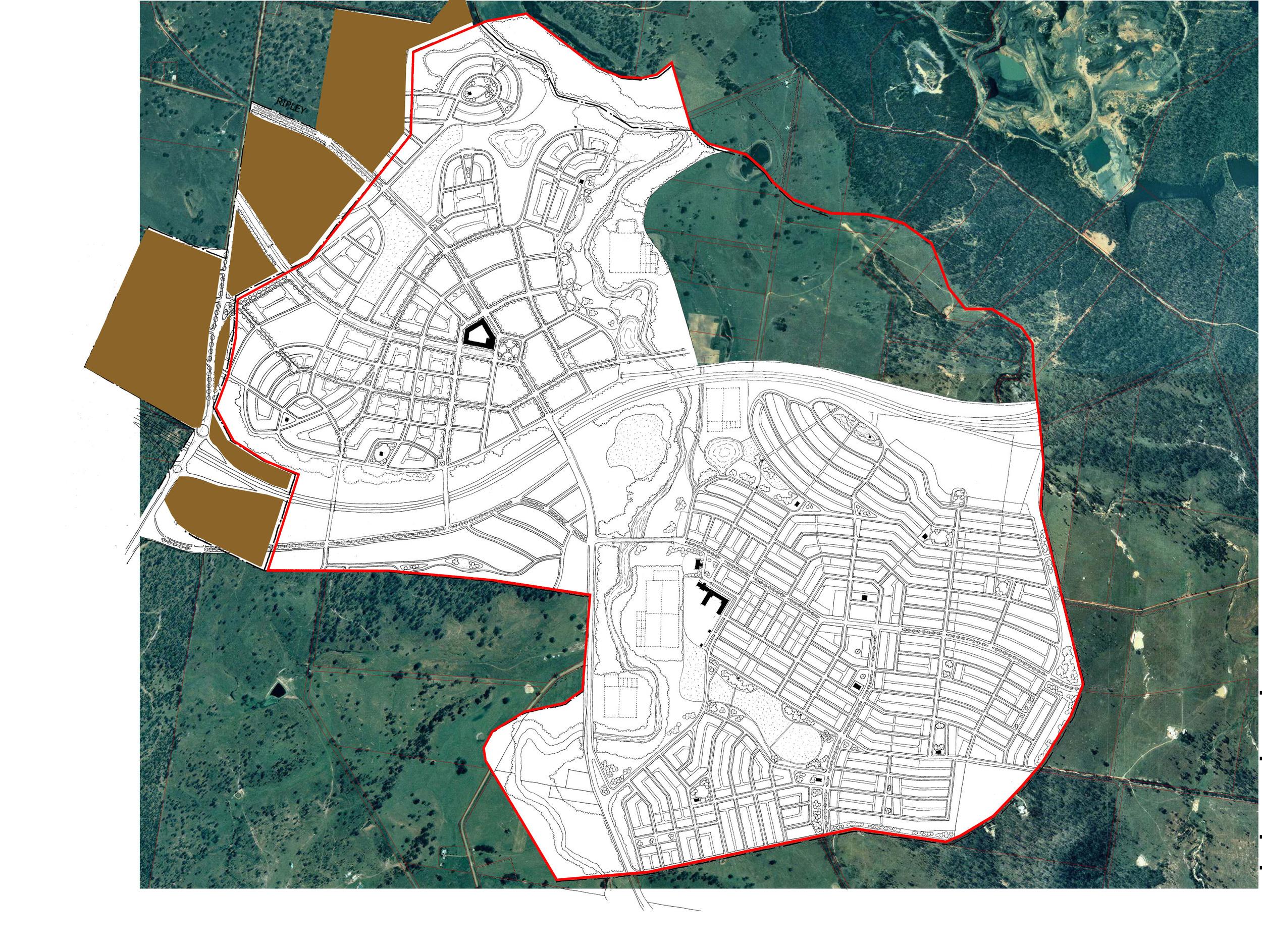 Ripley Valley masterplan