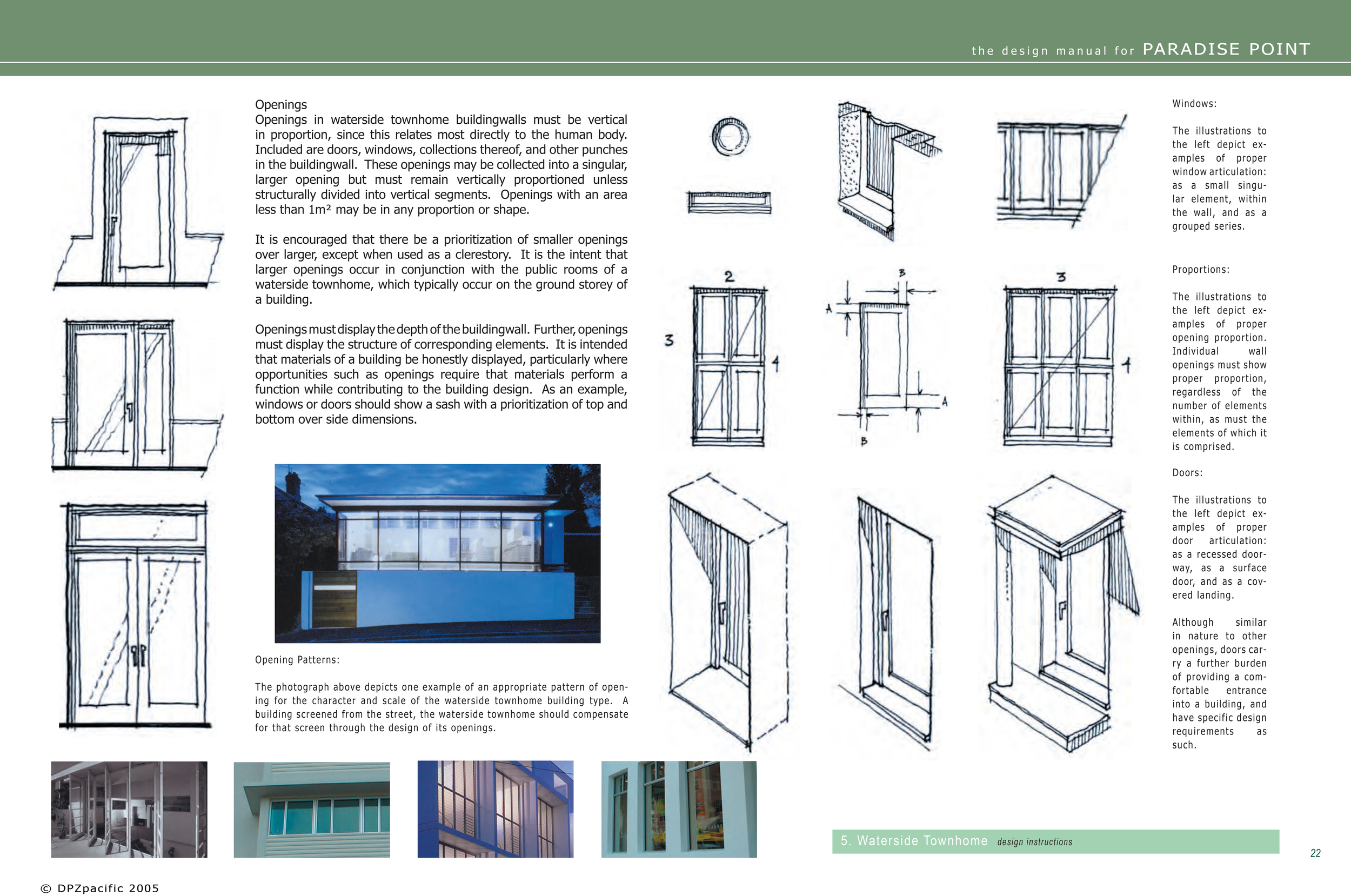 Paradise Point design manual