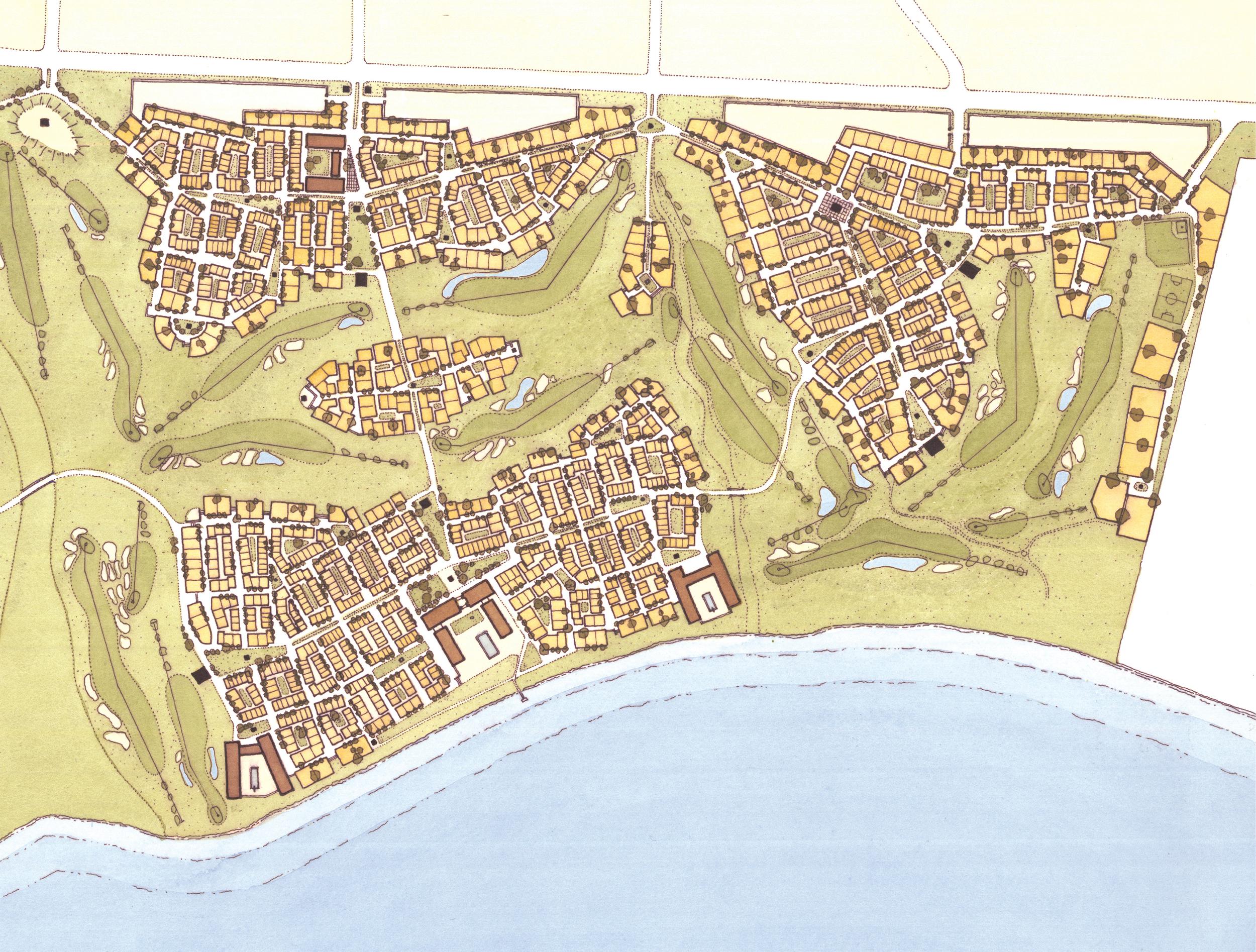 Loreto Bay plan detail