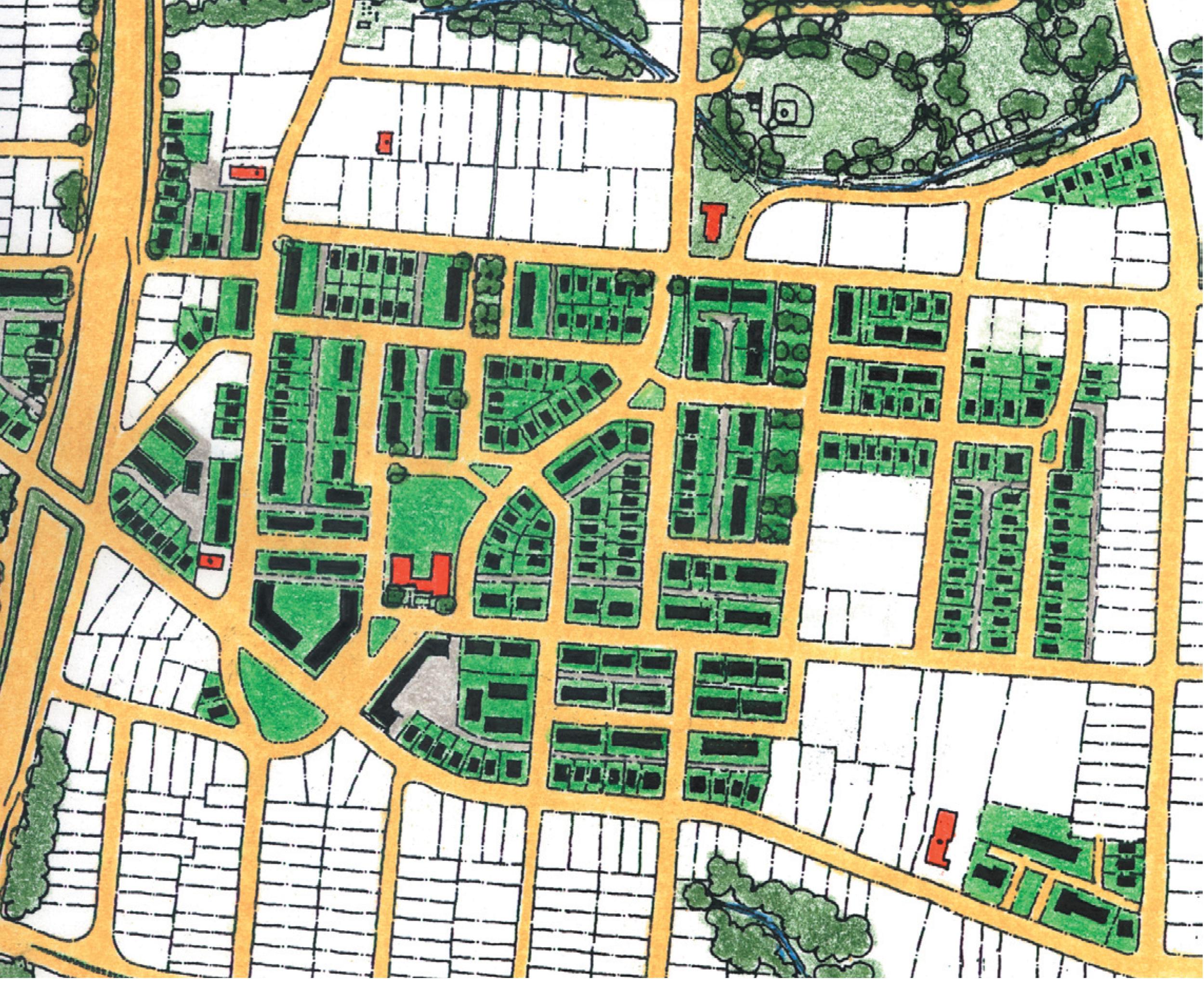 Willow Oaks Hope VI plan