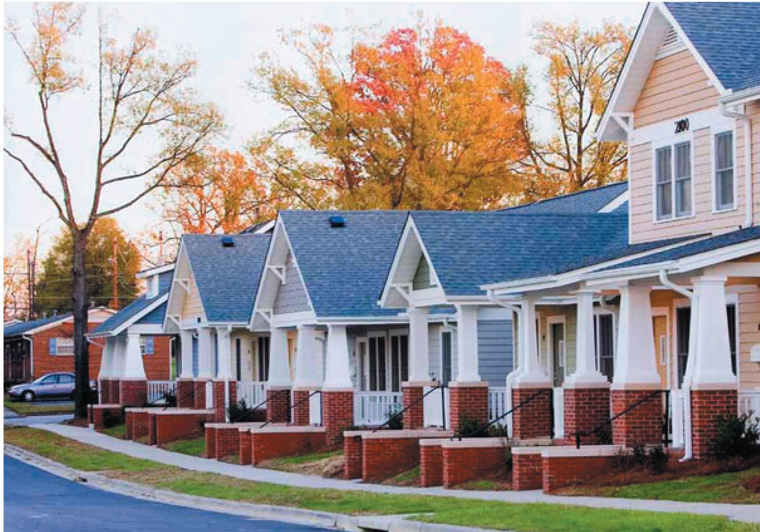 Willow Oaks Hope VI housing 1